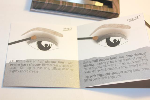 benefit smokin eyes instructions